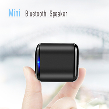 Portable Mini Bluetooth Speaker With Bass Wireless Bluetooth 4.1 Built-in Mic Outdoor Shower Sound Box For Phone Tablet Cube цена