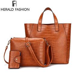 Стивен камень шаблон Для женщин сумки 3 шт./компл. сумка на ремне из композитных материалов сумка женская из искусственной кожи сумка