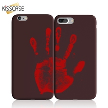 KISSCASE Temperature Case For iPhone X 8 7 6S 6 Plus Soft Discoloration Thermal Sensor Cases XS Max XR 5S SE Cover