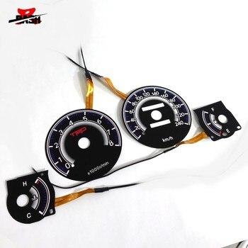 DASH EL glow gauge for Toyot Corolla AE100 1993 1997 240 km 8000 RPM Black Panel Reverse White light