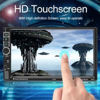 SWM 8802 1080 P FM Bluetooth автомобиля стерео обновленная версия 2din 7 дюймов Android 7,1 видео MP4 плеер W/gps навигации