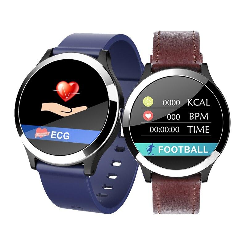 Bakeey B65 Smartwatch pulsera ECG + PPG presión arterial Monitor de frecuencia cardíaca IP67 inteligente recordatorio Deporte Fitness inteligente reloj de los hombres-in Relojes inteligentes from Productos electrónicos on AliExpress - 11.11_Double 11_Singles' Day 1