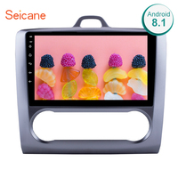 Seicane 9 2 DIN Android 8.1/7.1 GPS Navigation Touchscreen Quad core Car Radio for 2004 2011 Ford Focus Exi AT support DVR