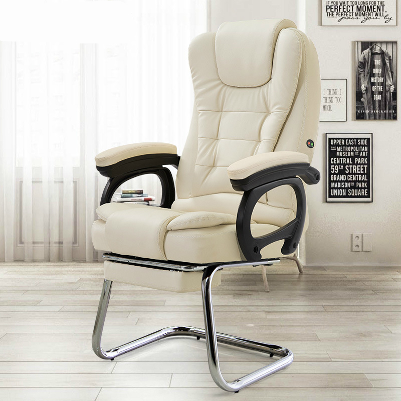 Computer Chair Thicken Sumptuous Boss Chair Reclining Massage Office Chair Arched Foot Steady Chair With Footrest Soft