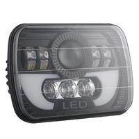 VODOOL Car Headlight Bulbs 7x6/ 5x7 inch 300W LED Headlight Rectangular Hi Lo Light for Car Truck SUV Lights Lamp Accessories