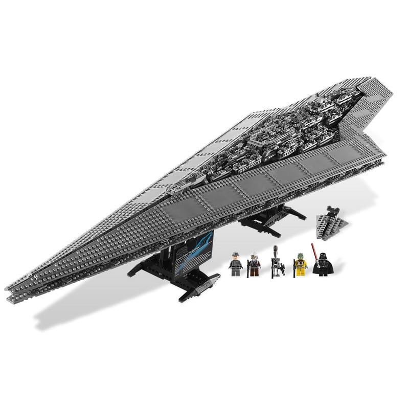 3208 pcs UCS Star Wars Super Star Destroyer Modèle Blocs de Construction Compatible legoings 10221 05028 Briques Jouets Cadeaux