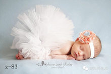 Baby Girl Tutu Dress Photography Props Infant Newborn Baby Photo Costume Photo Prop Lovely Dress & Headband(China)
