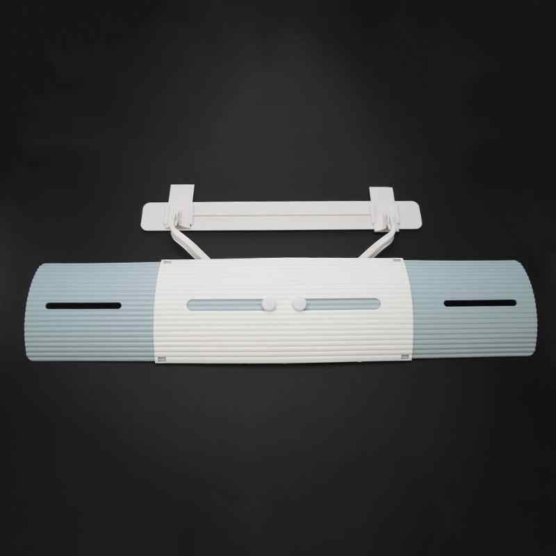 Adjustable Air Conditioner Cover Windshield Air Conditioning Baffle Shield Wind Guide Month Straight Anti-wind Shield  Drop Ship