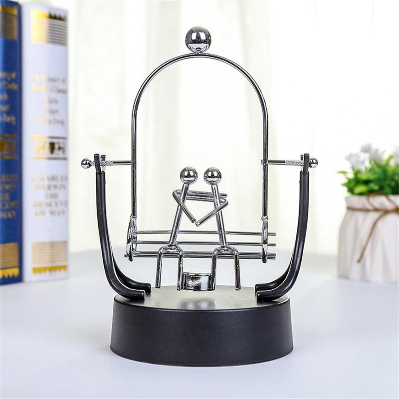 Electronic Science Perpetual Motion Desk Toy Revolving Balance Ball Physics Gift