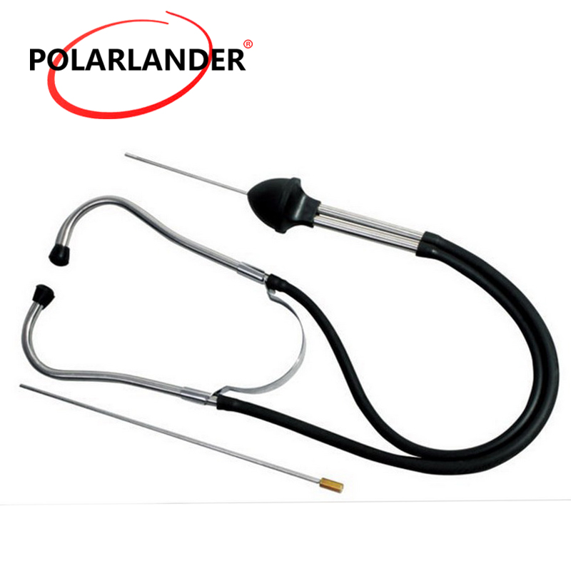 Auto Engine Stethoscope Mechanic Car Stainless Steel Diagnostic Examiner Tester