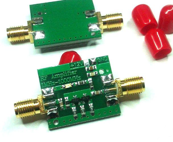 DYKB RF Amplifier 10KHz-4000MHz 10mW Broadband High Frequency Shortwave UV  HF RF FM Radio Signal Amplifier VHF UHF