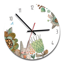 New 3D Wall Clock 28cm Acrylic Quartz Modern Design Watch For Living Room Mute Movement Duvar Saati Dropshipping