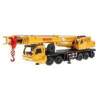 1/55 Tower Crane Excavator Construction Diecast Vehicle Model Educational Toys Birthday Gift for Children Kids Toddler