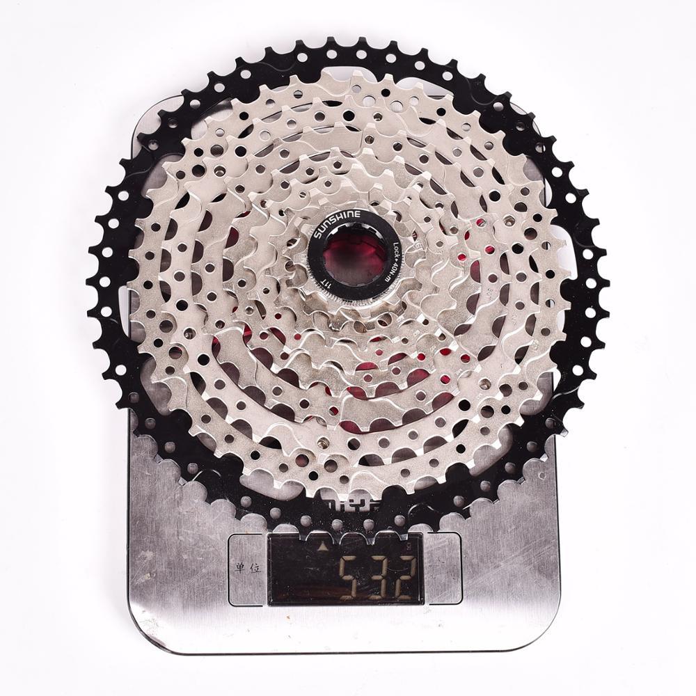 SUNSHINE-SZ 9 vitesses Cassette 11-50 T VTT rapport large vtt vélo 9 S roue libre Compatible avec M430 M4000 M590 roue libre - 6