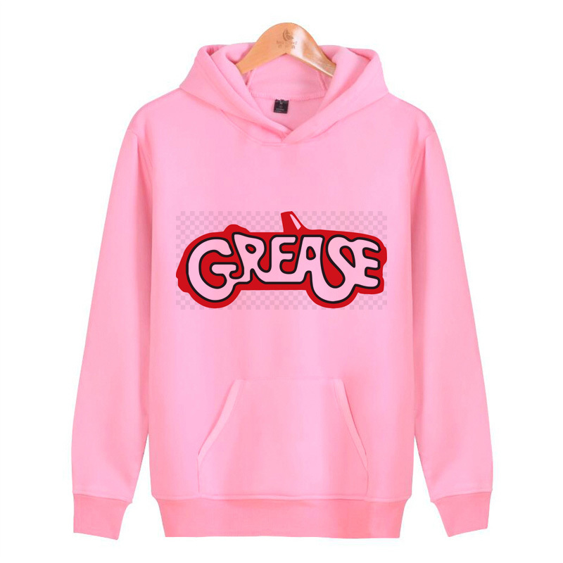 Grease Movie Hoodies Sweatshirts Harajuku Streetwear Hip Homme Hop Male Men/women Hoddies Pullover J1057