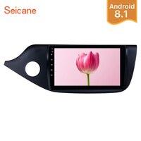Seicane 2Din автомобиля радио Android 8,1 9 GPS; Мультимедийный проигрыватель для 2012 2013 2014 Kia Ceed LHD сенсорный экран резервного копирования камера цифрово