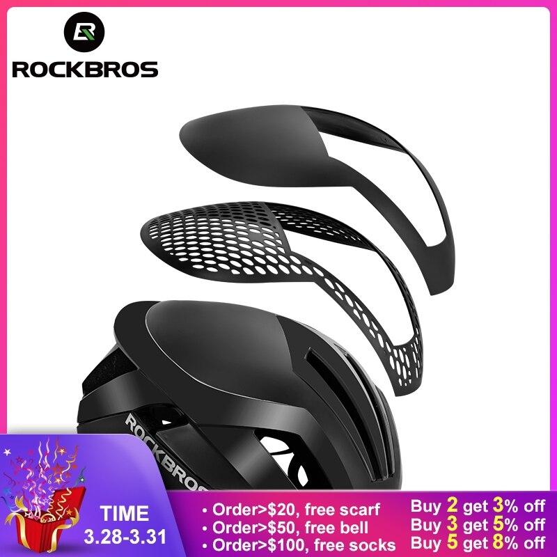 ROCKBROS велосипедный шлем EPS со светоотражателями для велосипеда шлем 3 в 1 MTB дорожный велосипед Мужская Безопасность легкий шлем интегрально-...