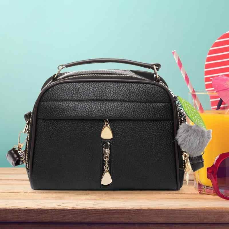 PU deri Crossbody Messenger omuzdan askili çanta yaprak çantası askılı çanta bayanlar parti çanta top bolsa feminina