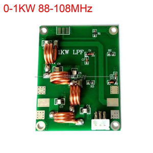 Image 1 - 0 1KW 88 108MHz Low pass filter coupler LFP Frequency FM transmitter Amplifier
