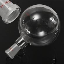 1000 мл шарнир 24/40 круглое дно фляжка нагревательная лабораторная стеклянная бутылка одно горлышко