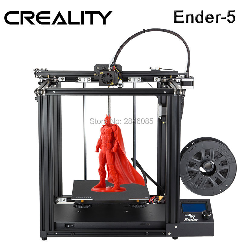 Impressora CRIATIVIDADE 3D Criatividade Ender-5 com Landy Energia estável, V1.1.3 mainboard, placa Cmagnetic construir, desligue currículo