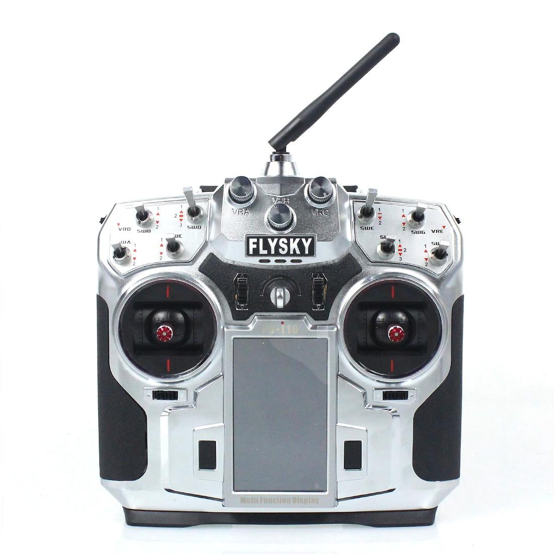 F16276/F16277 FS FlySky FS i10 T6 2.4g cyfrowy proporcjonalny 10 kanałów nadajnik i odbiornik System 3.55 ekran LED w Części i akcesoria od Zabawki i hobby na  Grupa 2
