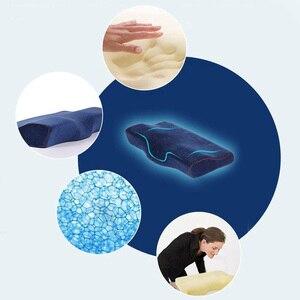 Image 2 - Sonno di Gomma Piuma di Memoria Cuscino Letto Cuscino Cuscini Ortopedici per il Dolore Al Collo Cuscino Ergonomico e Posteriore Traversine Laterali Traversine & Stomaco Dormiente