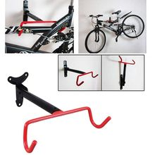 цена на Bicycle Storage Rack Wall Mounted Bike Hanger Hook Solid Steel Bicycle Wall Hanging Hook Heavy Duty Bicycle Racks Fold Down Bi