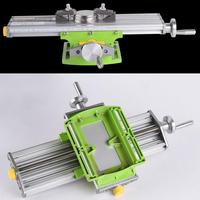 Upgraded Version 6330 Mini Electric Drill Stand Installation Micro Multi function Milling Machine Cross Slide DIY Table Stand