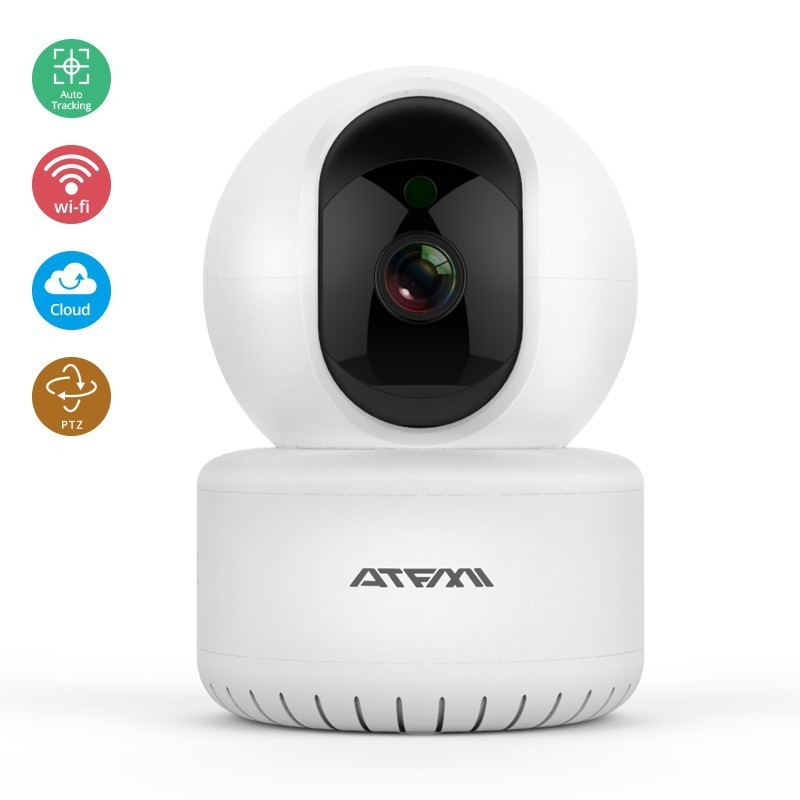 ATFMI HD 1080P Cloud Wireless IP Camera Intelligent Auto Tracking Of Human Home Security Surveillance CCTV Network H265 CameraATFMI HD 1080P Cloud Wireless IP Camera Intelligent Auto Tracking Of Human Home Security Surveillance CCTV Network H265 Camera