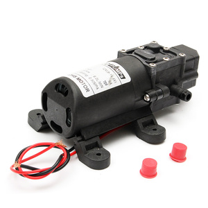 Image 3 - Durable DC 12V 130PSI Agricultural Electric Water Pump Black Micro High Pressure Diaphragm Water Sprayer Car Wash 12 V