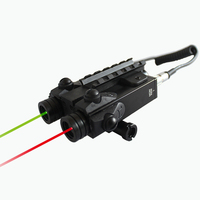 Laserspeed Drop Shipping Dual Beam Green and Red lazer 2in1 Combo Sight Police Equipment For Hunting Rifle Guns AR15