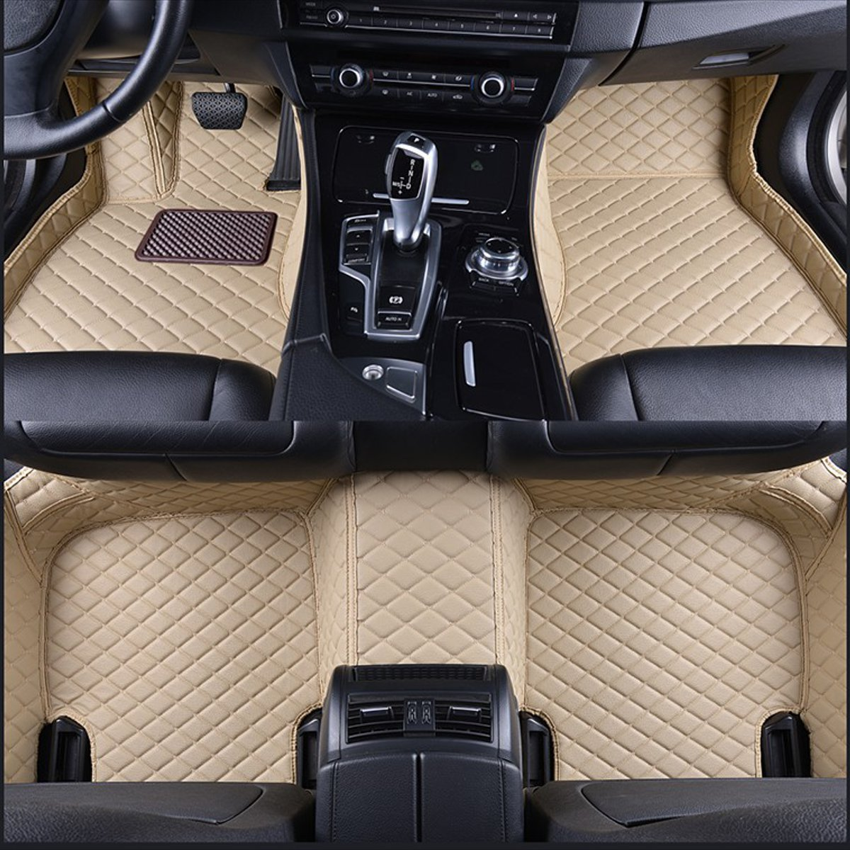 Car Front Rear PU Leather Floor Mats Set Liner Waterproof 5 Seat Custom Mats For BMW X5 E70 2007 2008 2009 2010 2011 2012 2013 Car Front Rear PU Leather Floor Mats Set Liner Waterproof 5 Seat Custom Mats For BMW X5 E70 2007 2008 2009 2010 2011 2012 2013