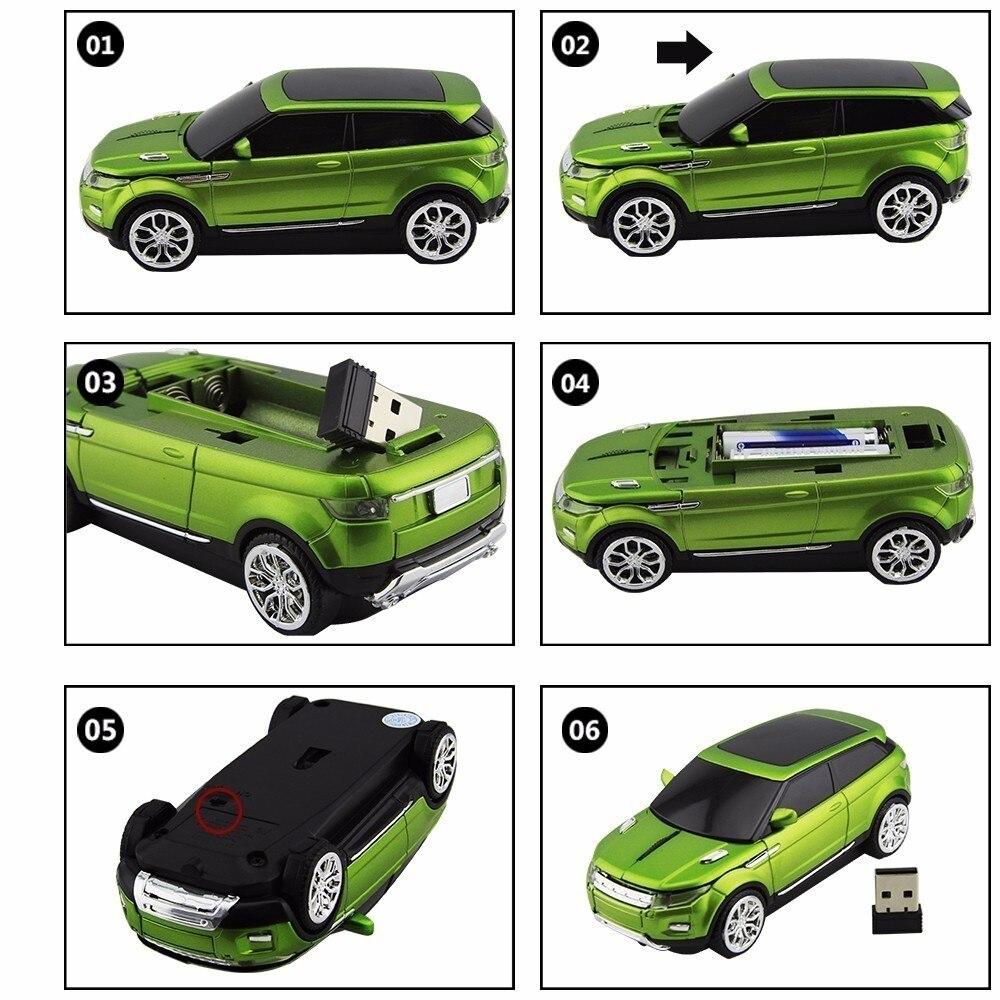 CHYI Ratón inalámbrico Moda Coche deportivo SUV Ratones en forma - Periféricos de la computadora - foto 6