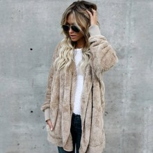 купить Autumn Winter New Women Long Plus Size Cardigan Casual Hooded Long Sleeve Loose Sweaters Female Oversize Solid Coat дешево