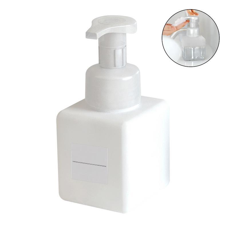 91f606a7971a 250ml Square Foam Bottle Foaming Press Bottle Cleanser Hand Sanitizer  Makeup Remover Bottle Bottle Without Japanese Label