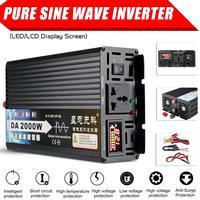 2000W / 3000W / 4000W Pure Sine Wave Power Inverter 12V/24V/48V/60V TO 220V LCD Display Voltage Converter