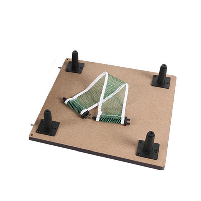 1 ensemble Mini Tennis de Table en bois Ping-Pong raquette Table Portable jeu de société jeu de Sport divertissement jouet pour enfants enfants - 5