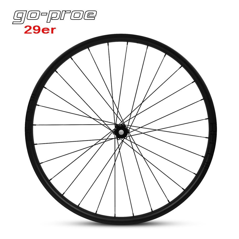 29er MTB Carbon Wheel For Cross Country All Mountain Bike Wheelset Novatec D791SB D792SB 6 Bolt 33*29mm Hookless Rim|Bicycle Wheel| |  - title=