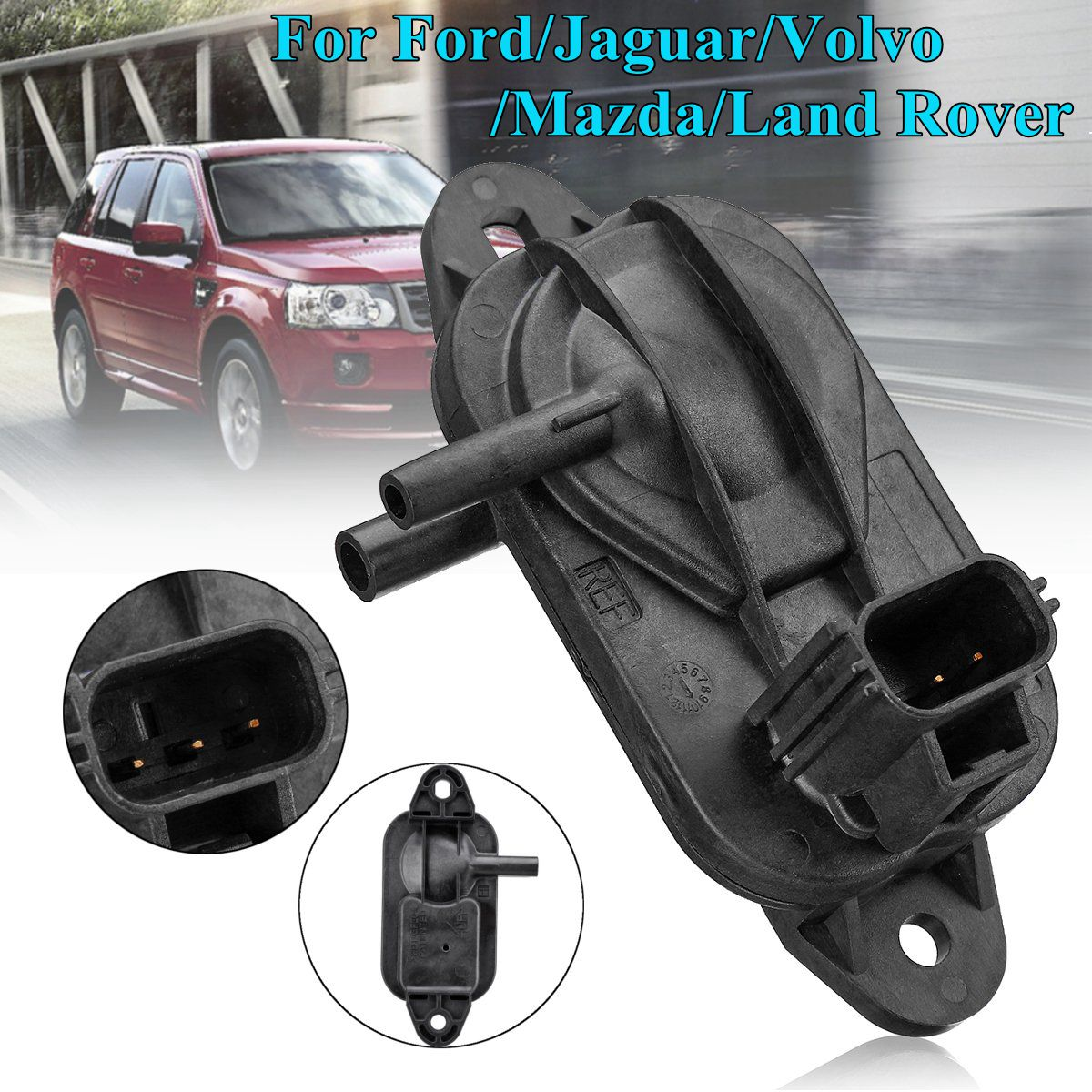 3 Pin for Ford Kuga for Volvo for Mazda for Land Rover 3M5A5L200AB Exhaust Gas Pressure Sensor DPF Senor 14156063 Pin for Ford Kuga for Volvo for Mazda for Land Rover 3M5A5L200AB Exhaust Gas Pressure Sensor DPF Senor 1415606