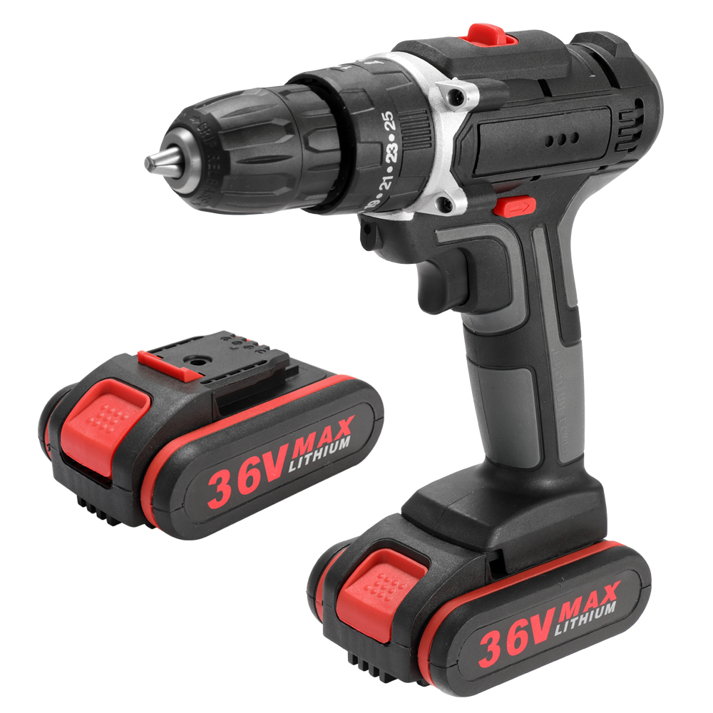 36V Electric Impact Cordless Mini High power Lithium Battery Wireless Rechargeable Electric Drill Power Tools