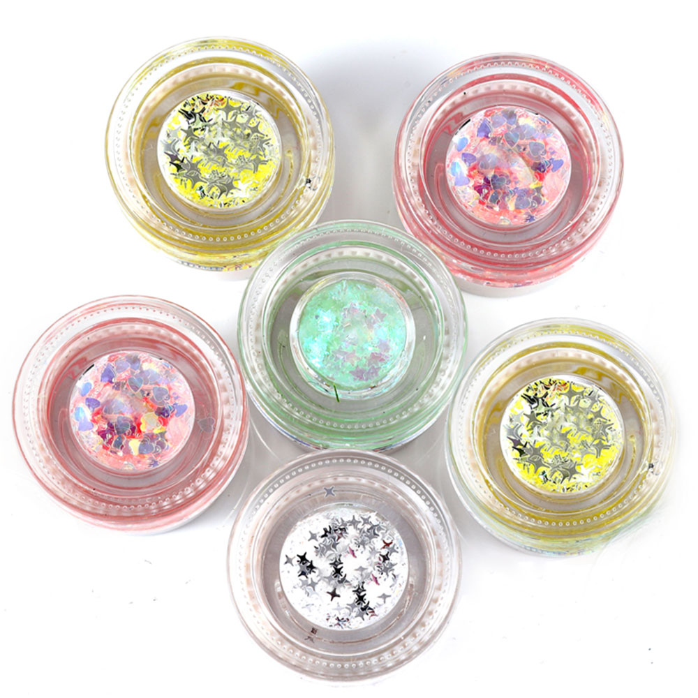 Rational Festival Body Glitter Makeup Highlighter Mermaid Sequin Cream Gel Hair Shimmer Lips Eye Shadow Glitter Tattoo Pigment Beauty Essentials Beauty & Health