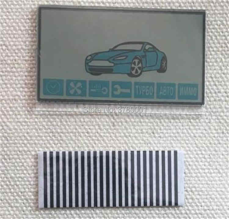 2019 A91 LCD display Screen flexible cable for 2 way Car Alarm System Starline A91 Remote Control display with Zebra Stripes