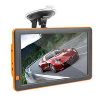 9 Inch Car Capacitive Screen Gps Navigator Bluetooth Fm 8G 256M Mp3/Mp4 Driving Voice Navigator