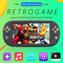 8GB X16 7 Inch Handheld Portable Game Console  Classic Video Game Players retro game mini console bitboys coolbaby