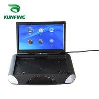 KUNFINE 10.1 INCH Car Roof Monitor LCD Flip Down Screen Overhead Multimedia Video Ceiling Roof mount Display