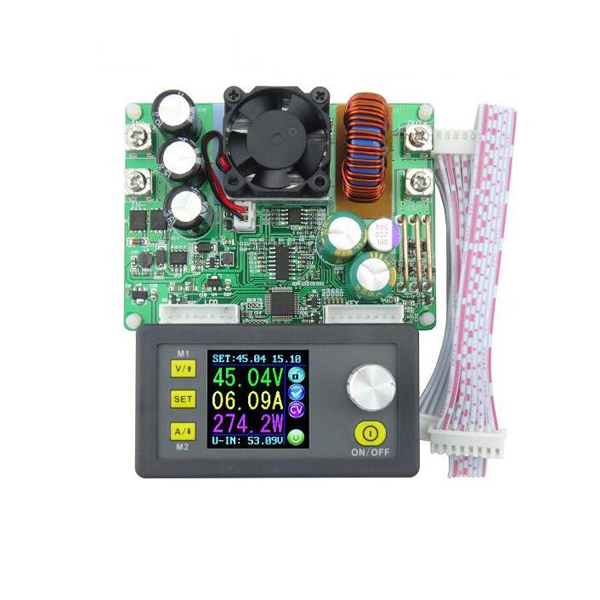 <font><b>DPS5015</b></font> Communication Constant Voltage Current Step Down Digital Power Supply Module Buck Converter LCD Voltmeter 50V <font><b>15A</b></font> image