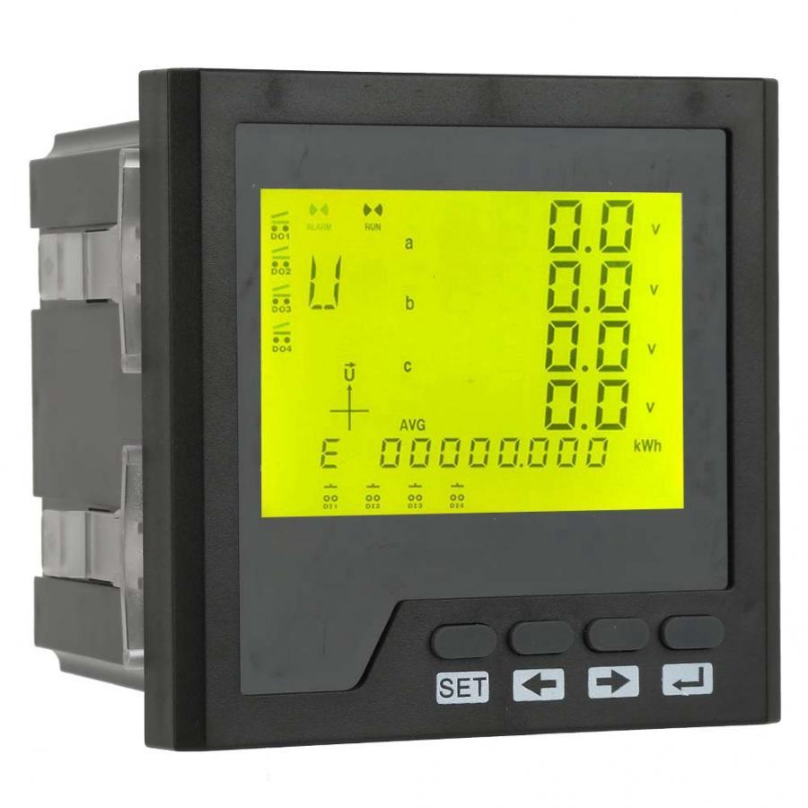 Offre spéciale de compteur triphasé Intelligent de compteur de puissance triphasé d'instrument électrique à ca 400 V/5A