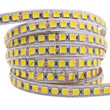 5M 600 LED 5054 LED şerit ışık su geçirmez DC12V RGB LED bant daha parlak 5050 soğuk beyaz/sıcak beyaz/buz mavi/kırmızı/yeşil/mavi