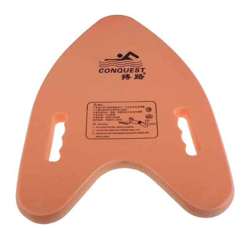 Легкая доска для плавания плавающая пластина A форма eva Learner Kickboard плавающая пластина тренировочные инструменты для взрослых и детей